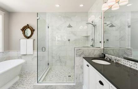 Bathroom Renovation Services In New Jersey Ledgestone Construction - Bathroom remodeling hamilton nj