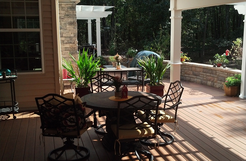 outdoor living spaces mercer county nj